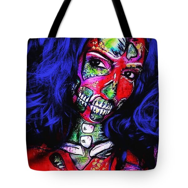 Popart Zombie Tote Bag