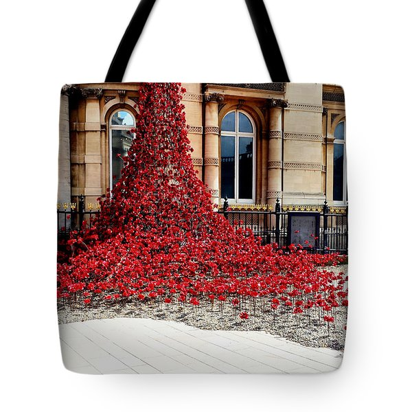 Poppies - City Of Culture 2017, Hull Tote Bag