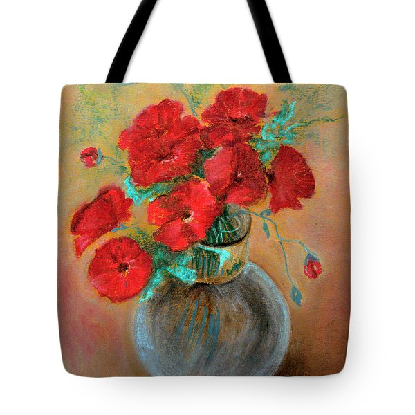 Poppies  Tote Bag by Jasna Dragun