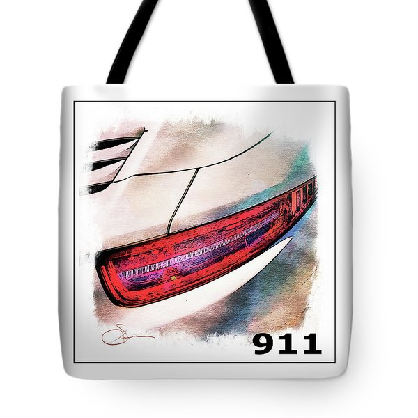 Porsche 911 Tote Bag by Robert Smith