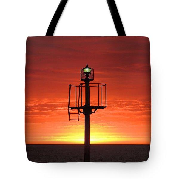 Port Hughes Lookout Tote Bag by Linda Hollis