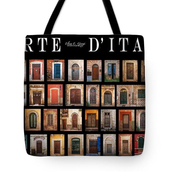 Porte D'italia Tote Bag