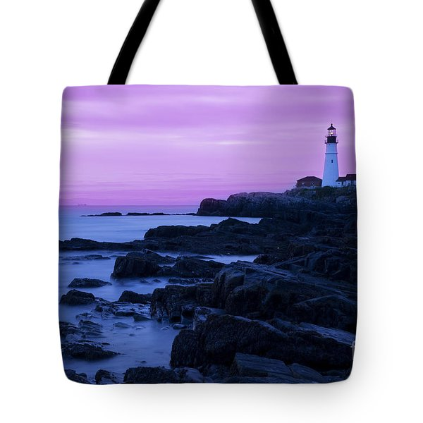 Portland Head Lighthouse Tote Bag by Brian Jannsen