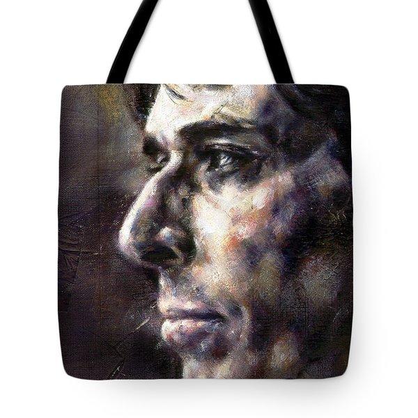 Portrait Of John Cale Tote Bag
