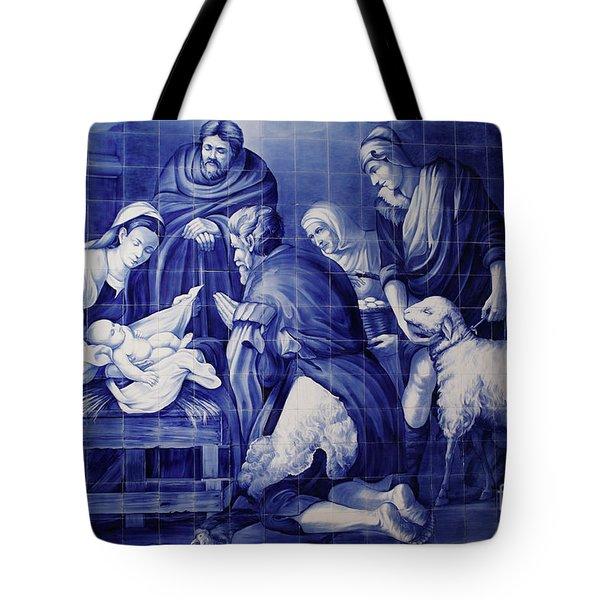 Portuguese Azulejo Tiles Tote Bag by Gaspar Avila
