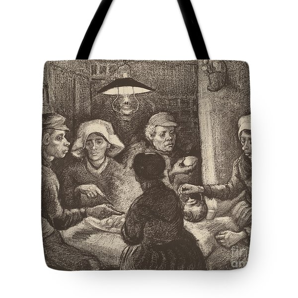 Potato Eaters, 1885 Tote Bag by Vincent Van Gogh