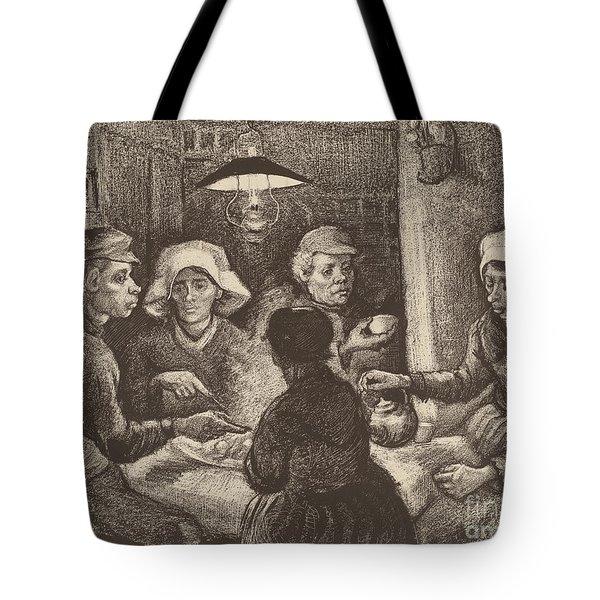 Potato Eaters, 1885 Tote Bag