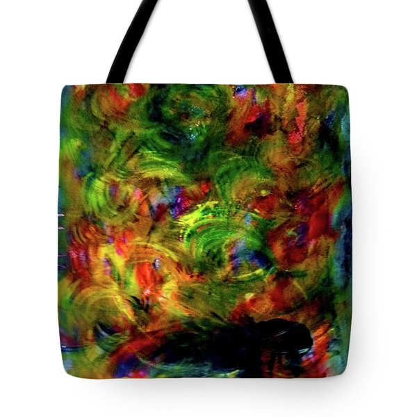 Power Of  Colour Tote Bag