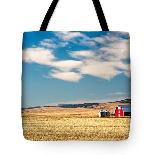 Prairie Red Tote Bag