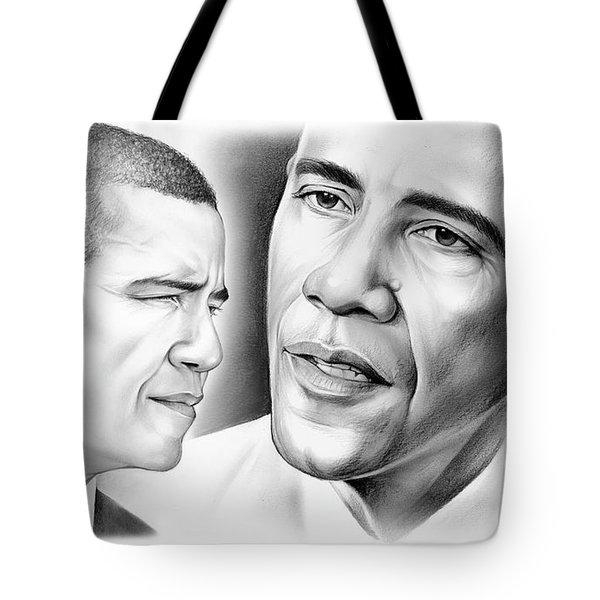 President Barack Obama Tote Bag by Greg Joens