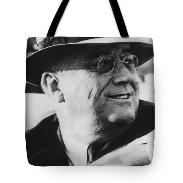 President Franklin Roosevelt Tote Bag