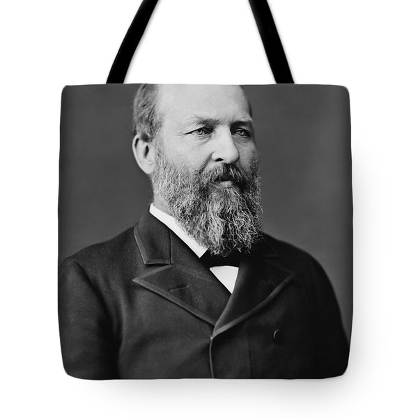 President James Garfield Photo Tote Bag