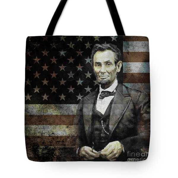 President Lincoln  Tote Bag by Gull G