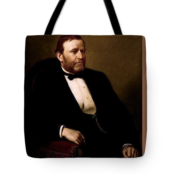 President Ulysses Grant Tote Bag by War Is Hell Store