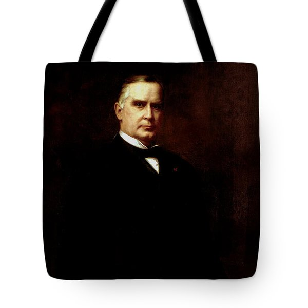 President William Mckinley  Tote Bag by War Is Hell Store