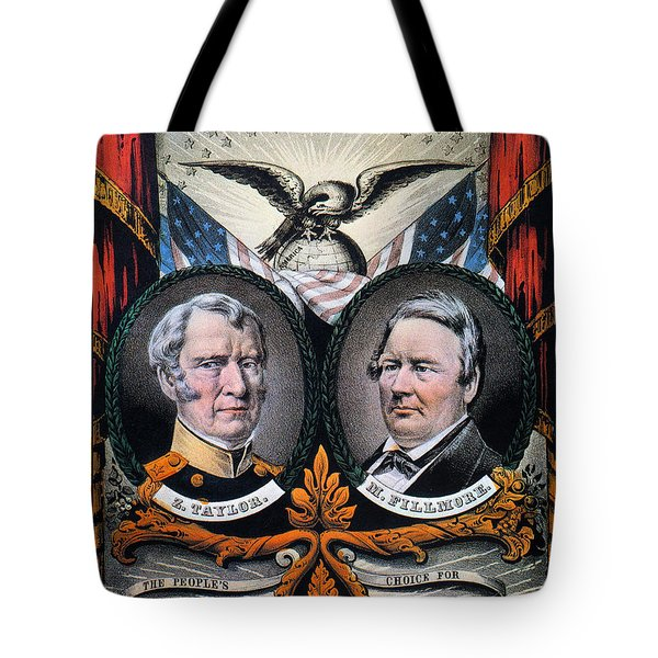 Presidential Campaign, 1848 Tote Bag by Granger