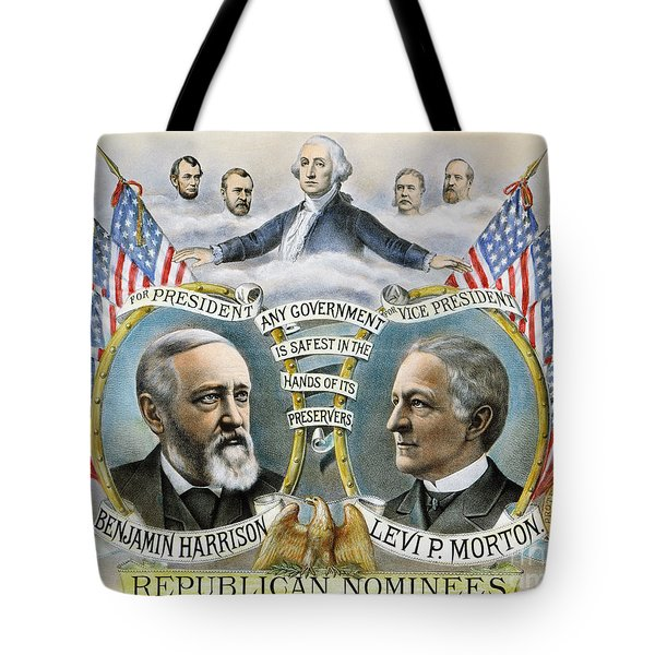 Presidential Campaign, 1888 Tote Bag by Granger
