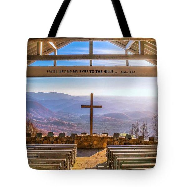 Pretty Place Tote Bag by Lynne Jenkins