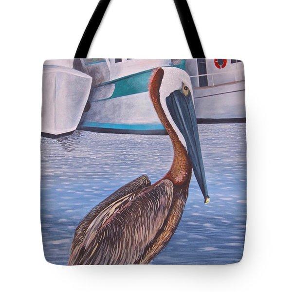 Pride Of Shem Creek Tote Bag