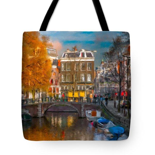 Prinsengracht 807. Amsterdam Tote Bag