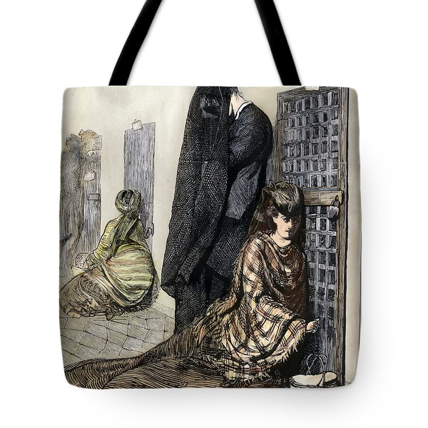 Prison: The Tombs, 1870 Tote Bag by Granger