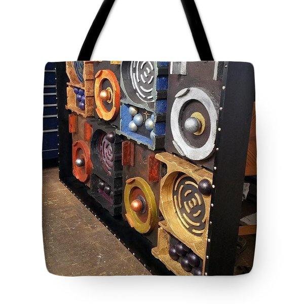 Tote Bag featuring the painting Prodigy  by James Lanigan Thompson MFA