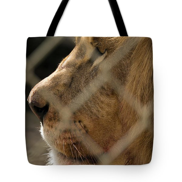 Profile Of A King Tote Bag