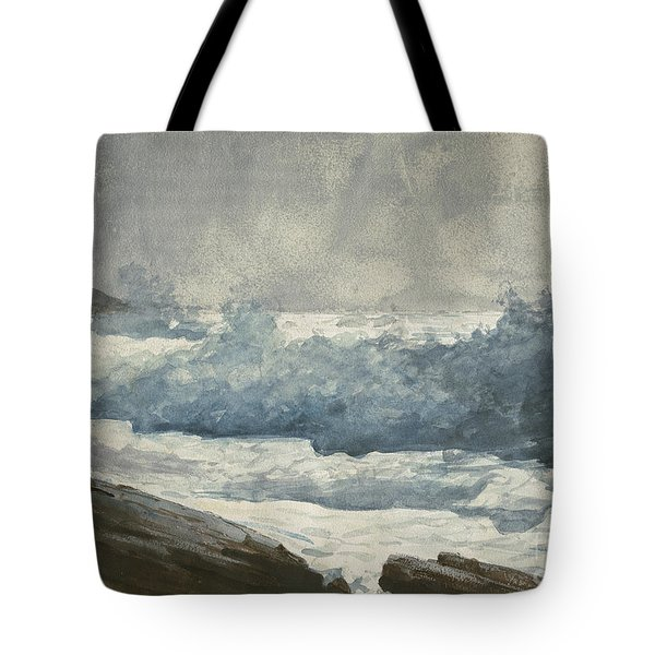 Prouts Neck, Breakers Tote Bag