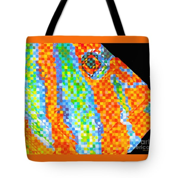 Pucker Up Tote Bag by Beth Saffer