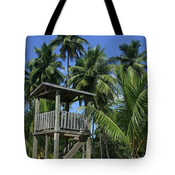 Puerto Rico Palms Tote Bag by Madeline Ellis