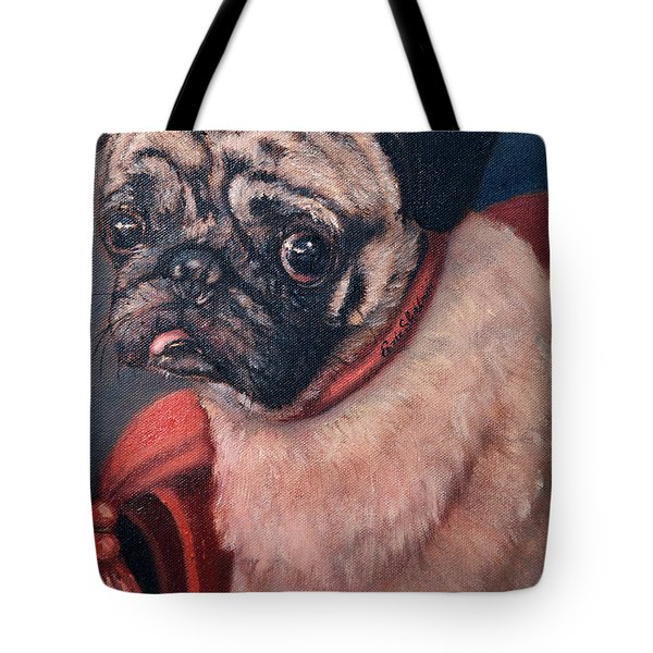 Pugsy Tote Bag by Enzie Shahmiri