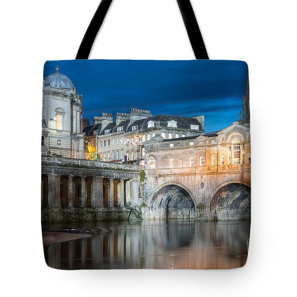 Pulteney Bridge, Bath Tote Bag by Colin Rayner