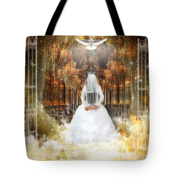 Pure Bride Tote Bag