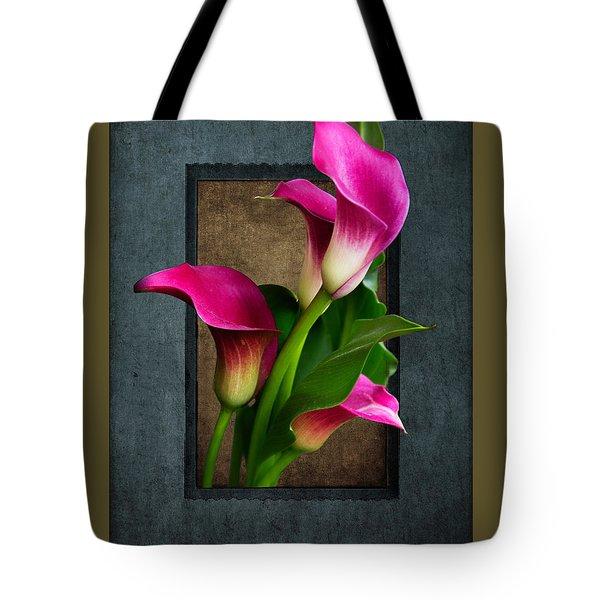 Purple Calla Lily Tote Bag