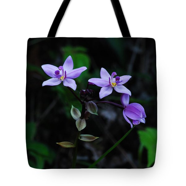 Purple Orchids 2 Tote Bag