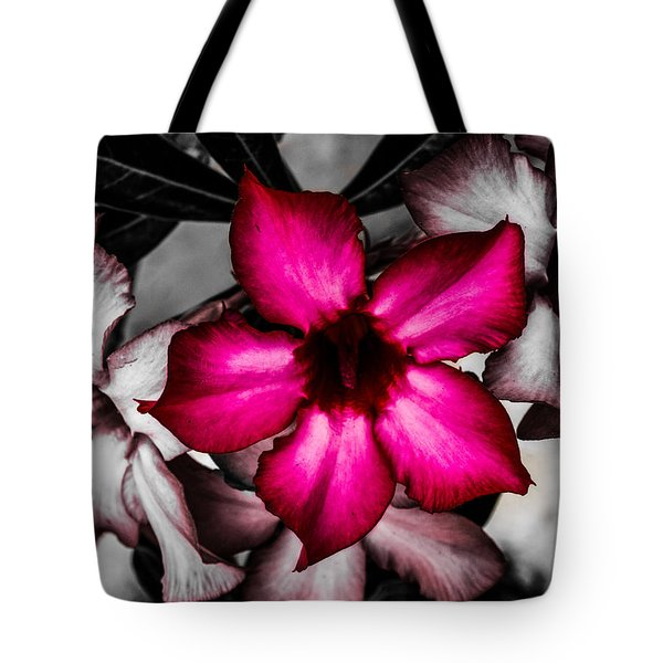 Tote Bag featuring the photograph Purple Rain by Randy Sylvia