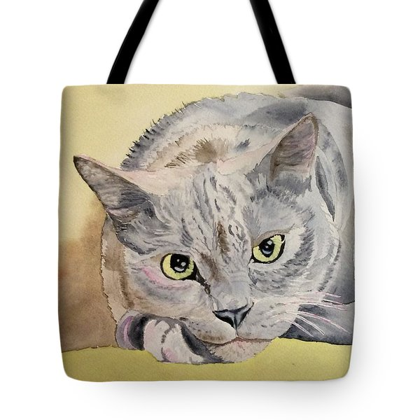 Puss Off Tote Bag
