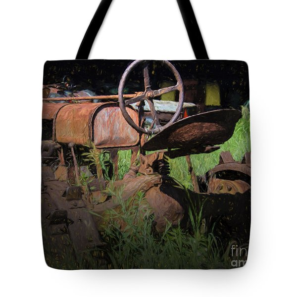 Tote Bag featuring the photograph Put Out To Pasture by JRP Photography