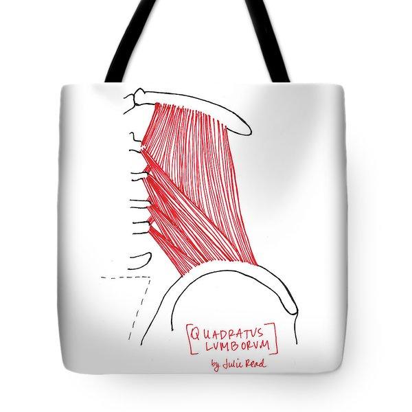 Quadratus Lumborum Tote Bag