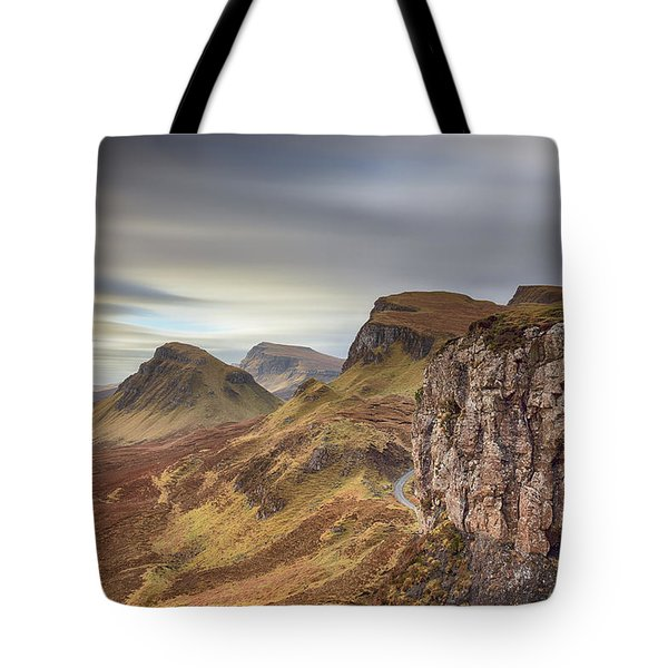 Quiraing - Isle Of Skye Tote Bag by Grant Glendinning