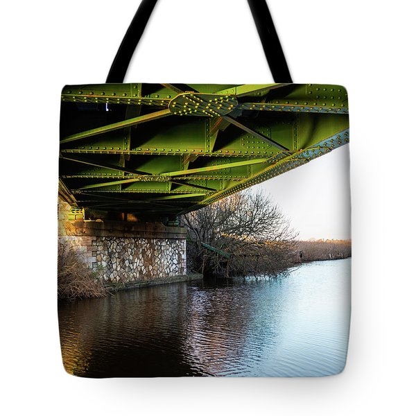 Railway Bridge Tote Bag