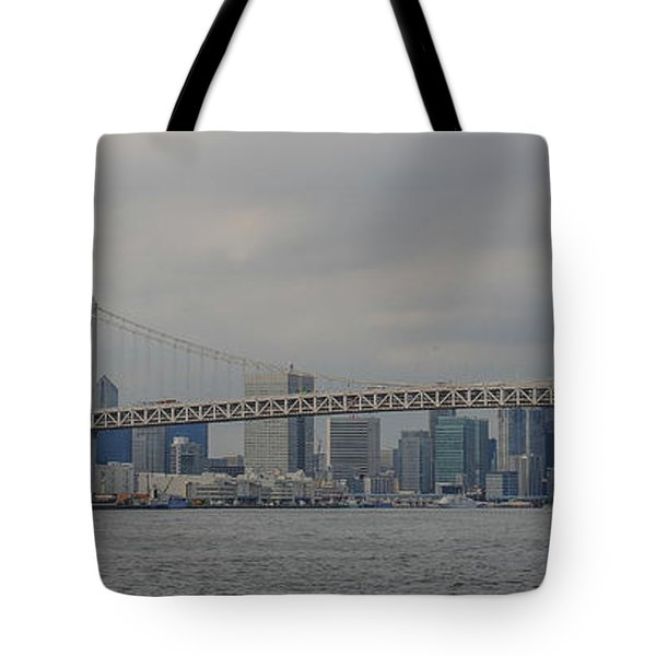 Rainbow Bridge Tote Bag by Megan Martens