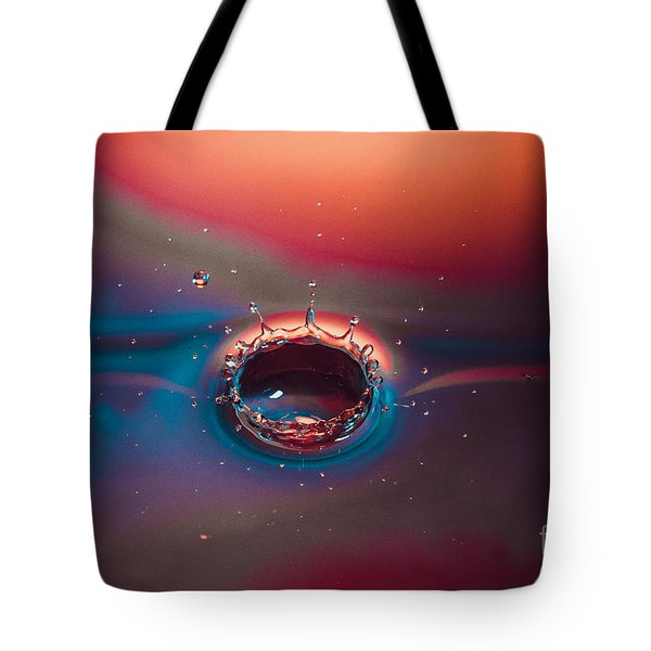 Rainbow Splash Tote Bag