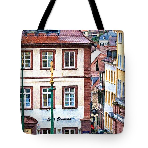 Rainy Day In Heidelberg Tote Bag
