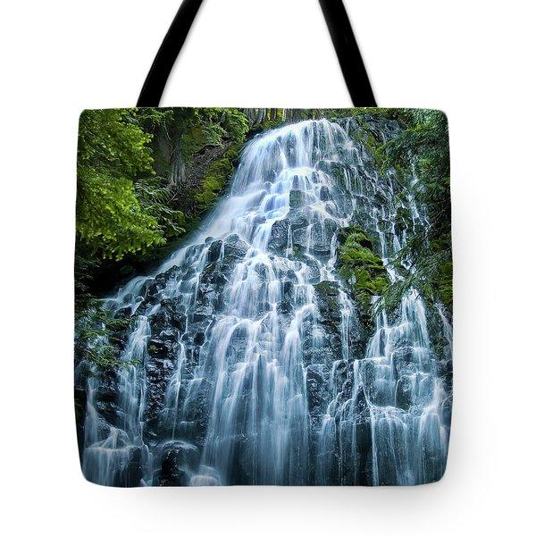 Ramona Falls Cascade Tote Bag