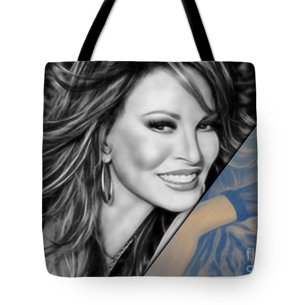 Raquel Welch Collection Tote Bag by Marvin Blaine
