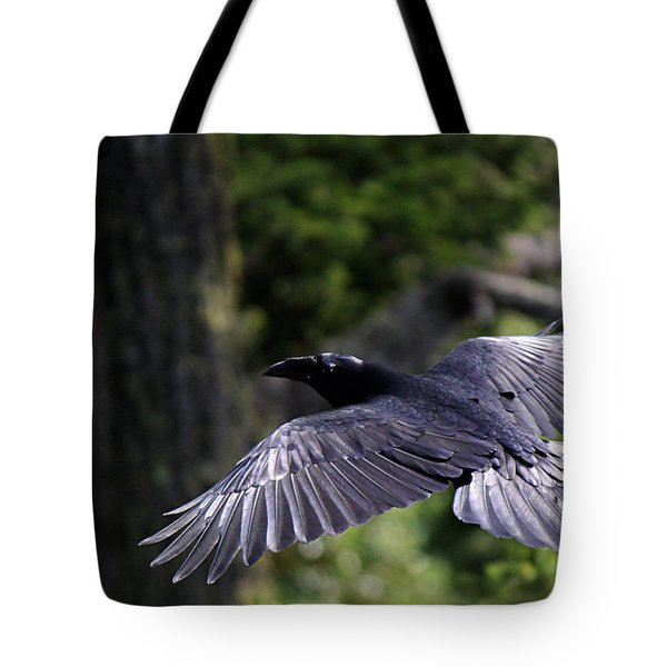 Raven Flight Tote Bag