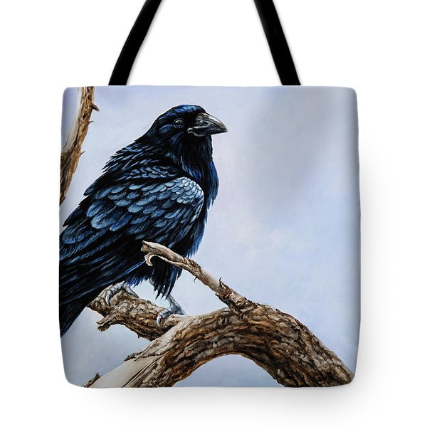 Raven Tote Bag by Igor Postash