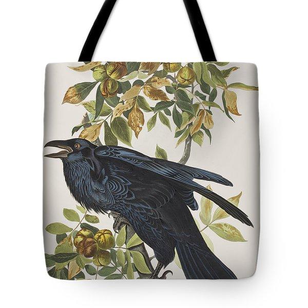 Raven Tote Bag by John James Audubon