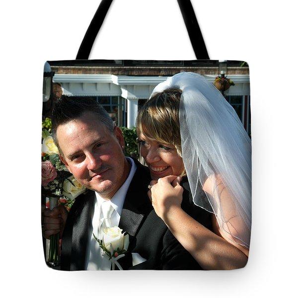 Rebecca And David Tote Bag